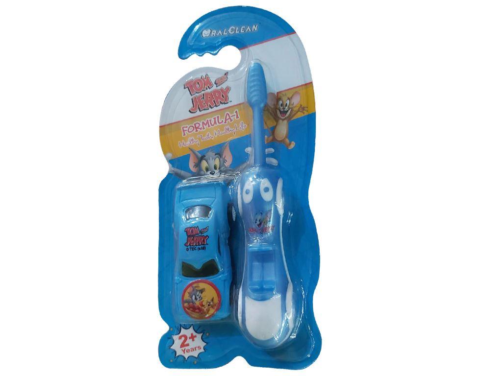 Bàn chải cho bé trên 2 tuổi Oral-Clean Formula-1 lông mềm (giao màu ngẫu nhiên) 8