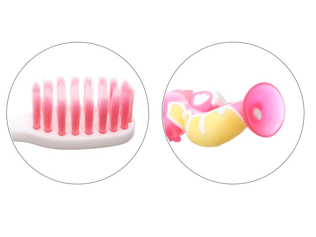 Combo bàn chải và kem đánh răng cho bé trên 8 tuổi Dr. Kool Junior lông siêu mềm hương cam 5