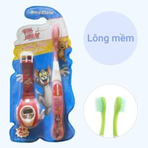 Bàn chải cho bé từ 2 tuổi Oral-Clean Formula-1 lông mềm (giao màu ngẫu nhiên)