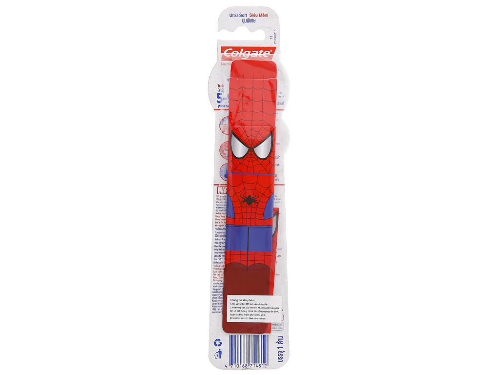 Bàn chải cho bé 5 - 9 tuổi Colgate Spiderman/Batman/Baby lông siêu mềm 17