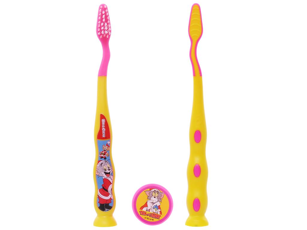 Bàn chải cho bé 2 - 6 tuổi Oral-Clean Crazy Kids lông mềm 2
