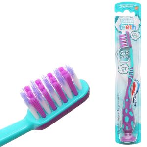 Bàn chải cho bé 6 - 8 tuổi AquaFresh Big Teeth lông siêu mềm mảnh