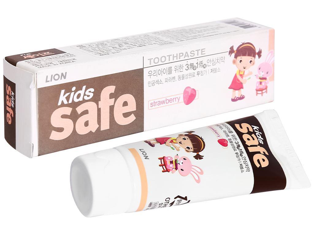 Kem đánh răng cho bé Kids Safe hương dâu 90g 1