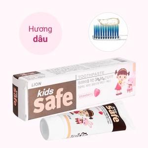 Kem đánh răng cho bé 2 - 10 tuổi Kids Safe hương dâu 90g