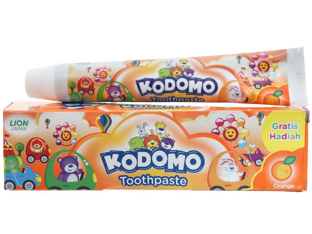 Kem đánh răng cho bé Kodomo hương cam 45g 2