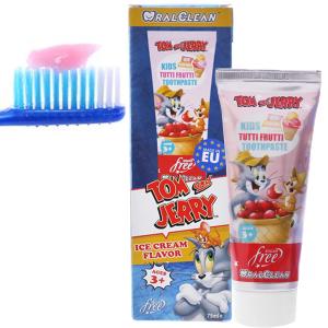 Kem đánh răng cho bé trên 3 tuổi Oral-Clean Tutti Frutti 75ml