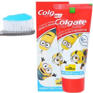 Kem đánh răng cho bé trên 6 tuổi Colgate Minions hương trái cây 80g