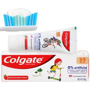 Kem đánh răng cho bé từ 3 - 5 tuổi Colgate hương dâu 80g