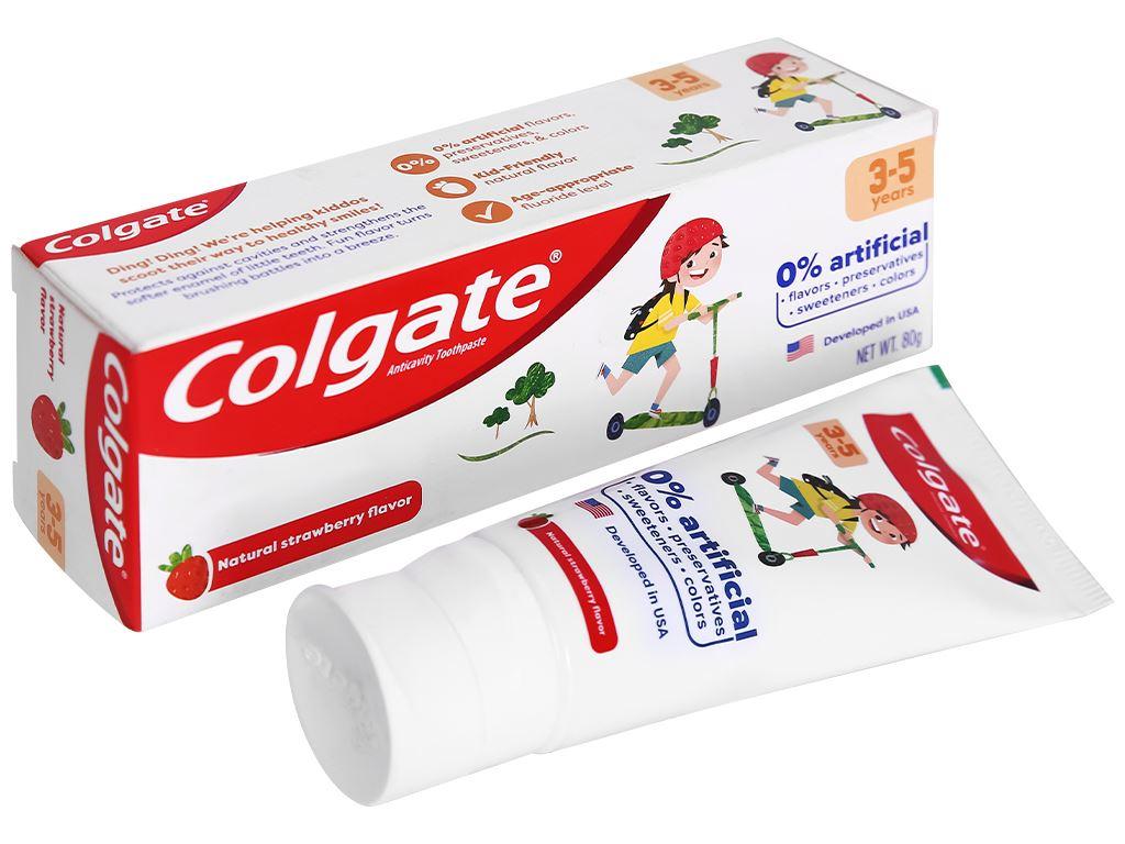 Kem đánh răng cho bé từ 3 - 5 tuổi Colgate hương dâu 80g 1