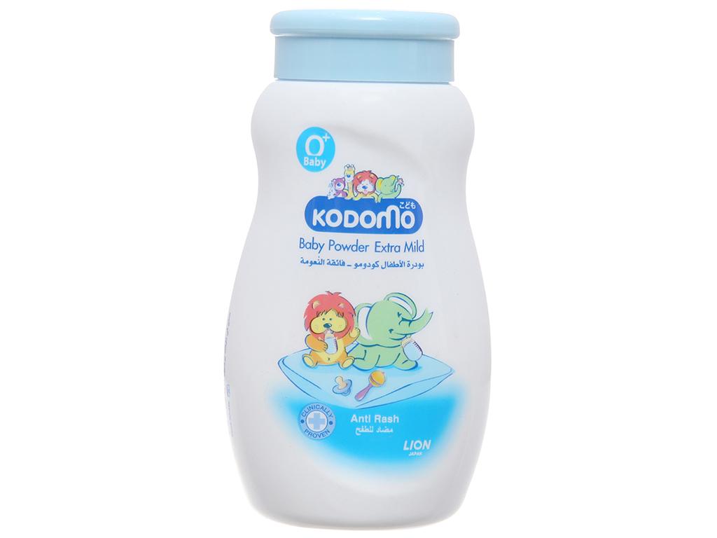 Phấn trẻ em Kodomo Extra Mild ngừa rôm sảy 50g 2