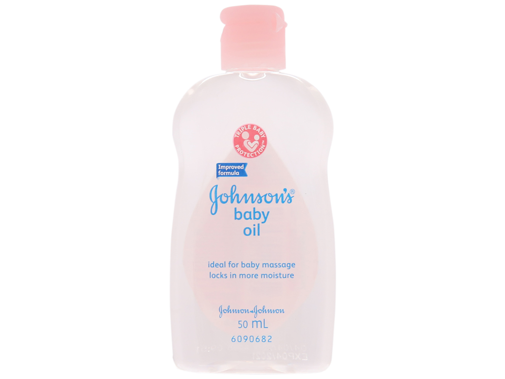 Dầu massage cho bé Johnson's 50ml 1