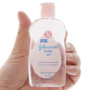 Dầu massage Johnson's Baby oil dịu nhẹ 50ml