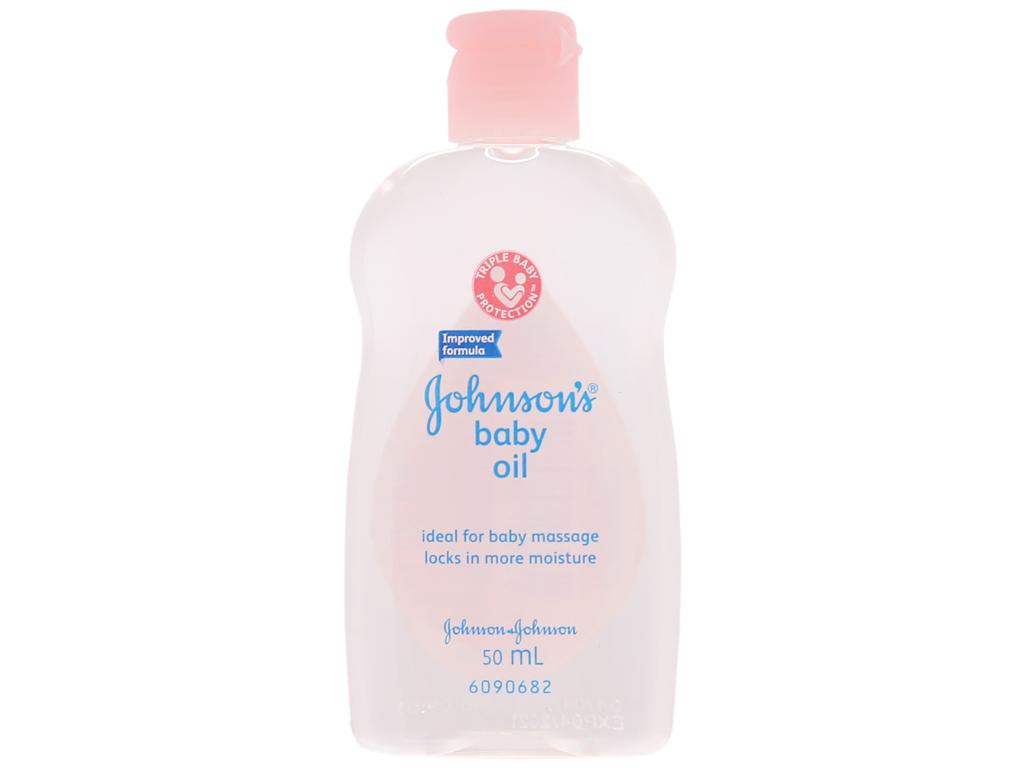 Dầu massage Johnson's Oil 200ml 7