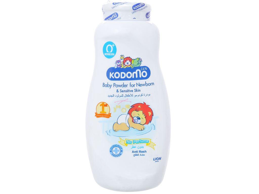 Phấn trẻ em Kodomo dành cho bé sơ sinh có làn da nhạy cảm 200g 1