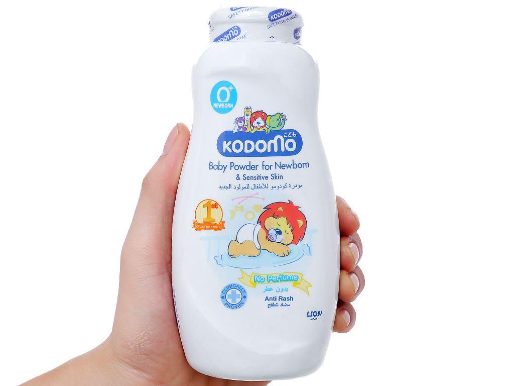 Phấn trẻ em Kodomo dành cho bé sơ sinh có làn da nhạy cảm 200g 3