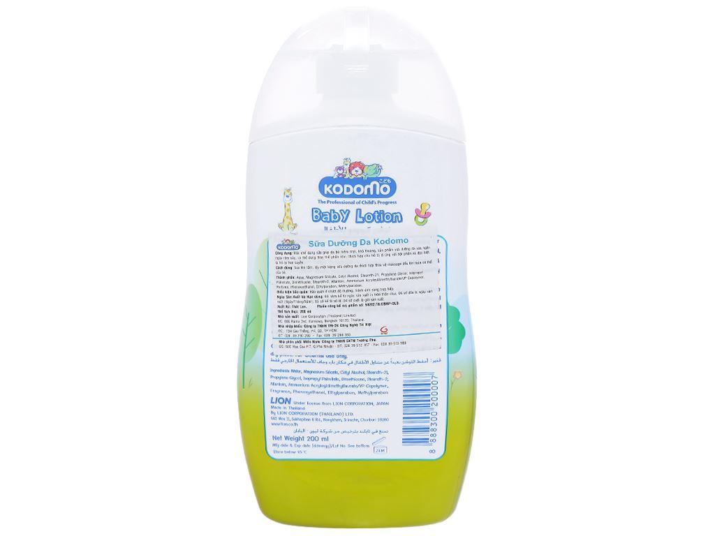 Sữa dưỡng da Kodomo 200ml 2