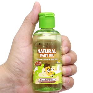 Dầu mát-xa thiên nhiên Purité Baby hạnh nhân 100ml