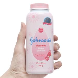 Phấn Johnson's Baby ngừa rôm sẩy hương hoa 200g