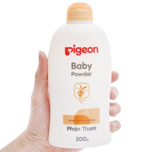 Phấn Pigeon Baby Powder chống hăm dịu nhẹ 200g