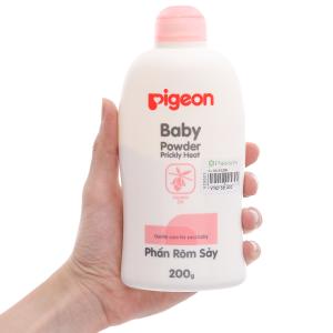 Phấn Pigeon baby powder prickly heat ngừa rôm sẩy 200g