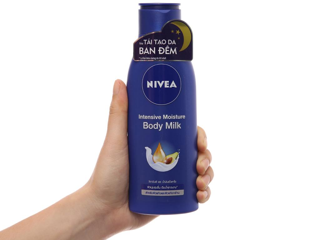 Sữa dưỡng thể Nivea dưỡng ẩm chuyên sâu 250ml 4