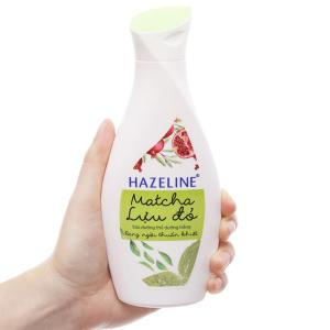Sữa dưỡng thể Hazeline trắng da ngày và đêm 230ml