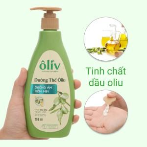 Sữa dưỡng thể Ôliv dưỡng ẩm mềm mịn 200ml
