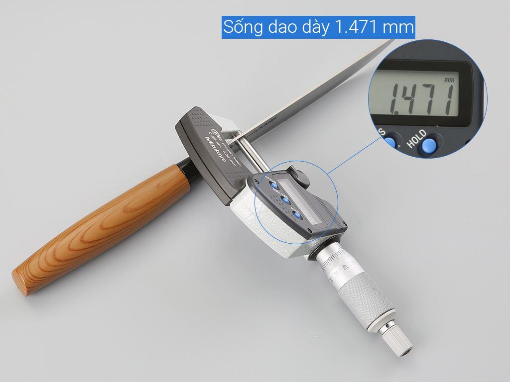 Dao thái thép không gỉ 24.5cm Điện Máy Xanh D002-DG 7