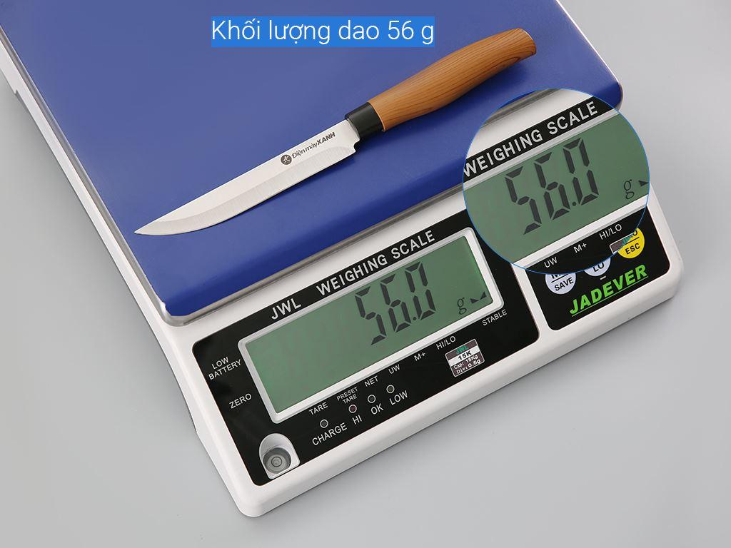 Dao thái thép không gỉ 24.5cm Điện Máy Xanh D002-DG 8