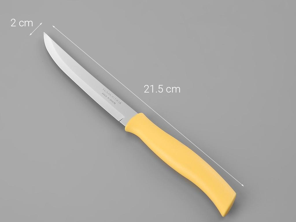 Dao thái thép không gỉ 21.8cm Tramontina 7
