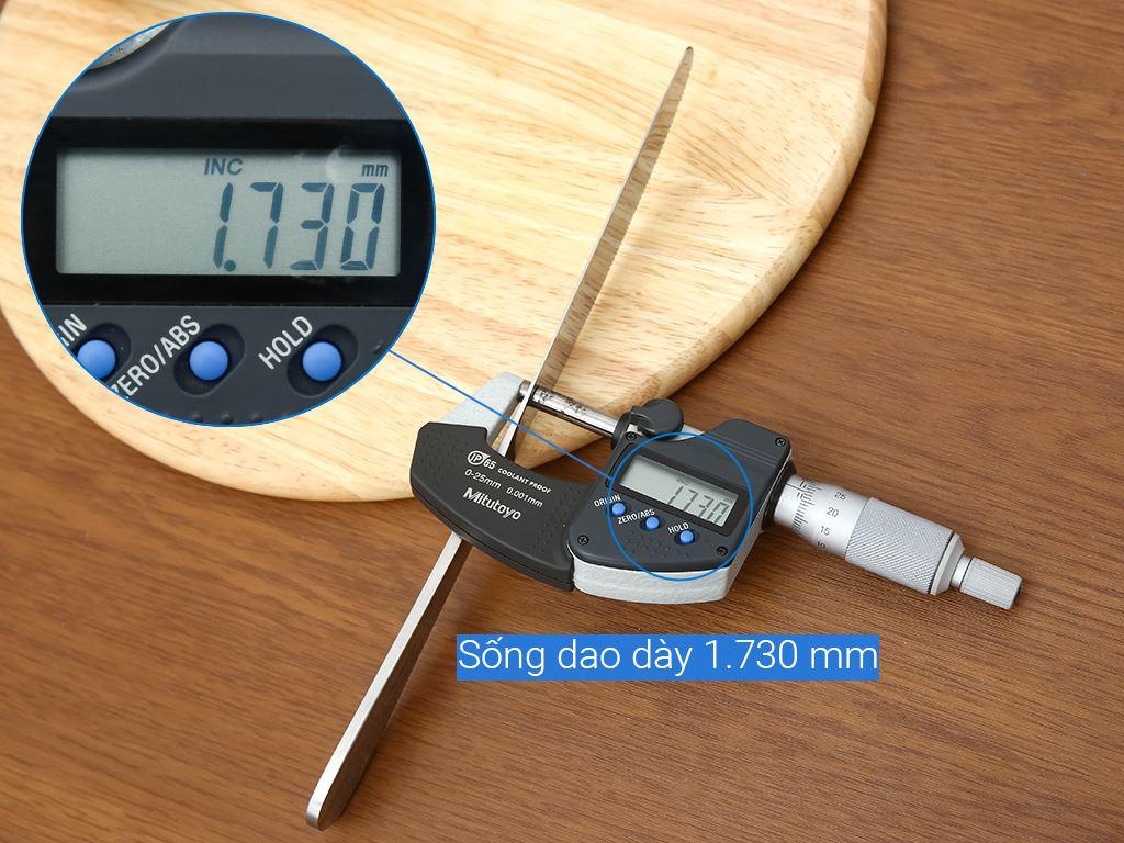 Dao bít tết inox 26.5cm Chung Mộc Hùng 8