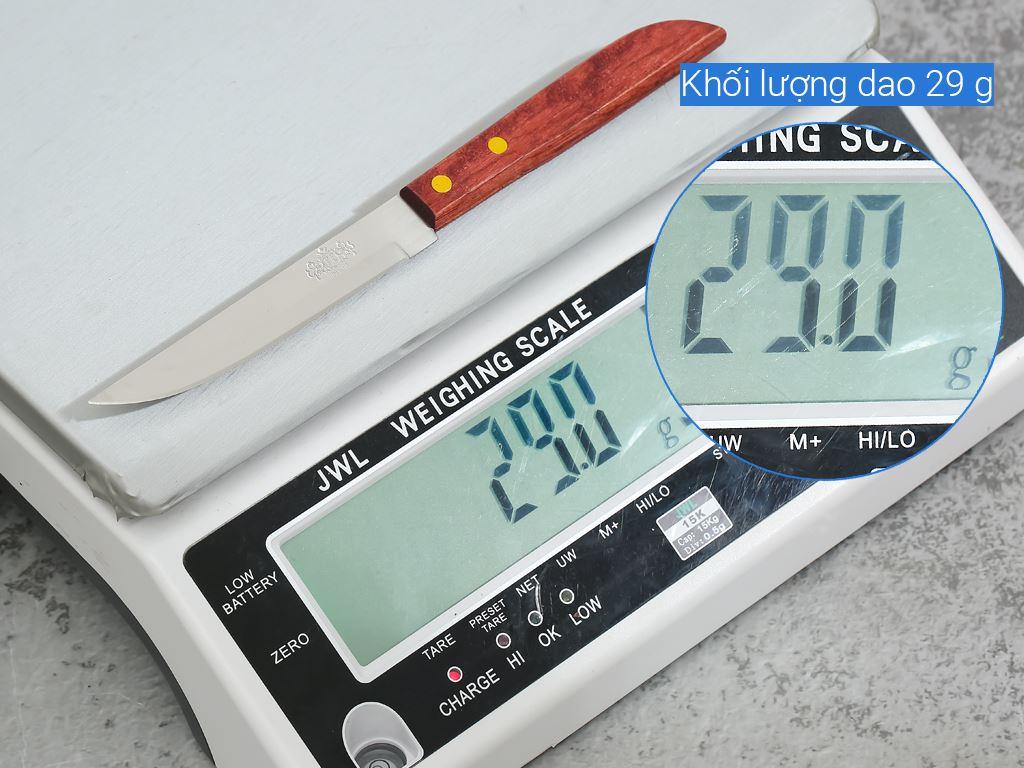 Dao thái thép không gỉ cán gỗ 28cm Tân Bách Phát 501 9