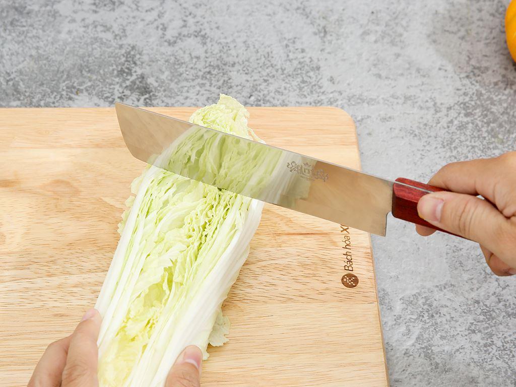 Dao thái thịt thép không gỉ cán gỗ 36cm Tân Bách Phát 172 6