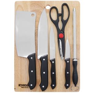 Bộ dao thớt 7 món Ichigo SK-2245