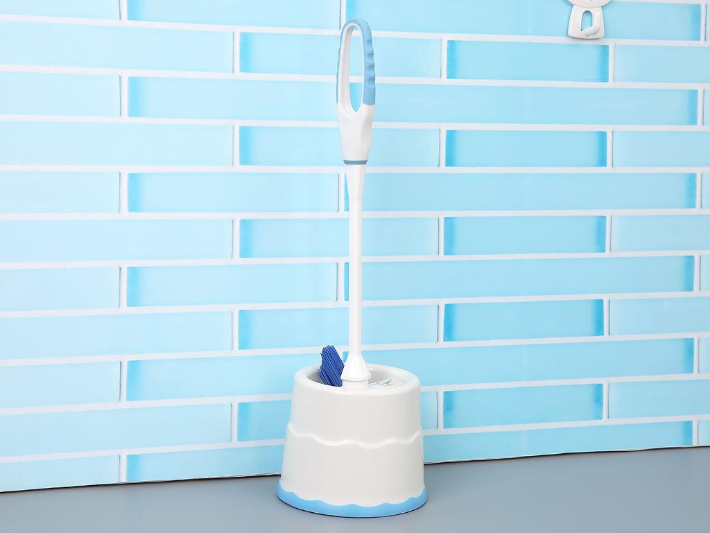 Cọ toilet nhựa có đế Tashuan Ts-5224 6