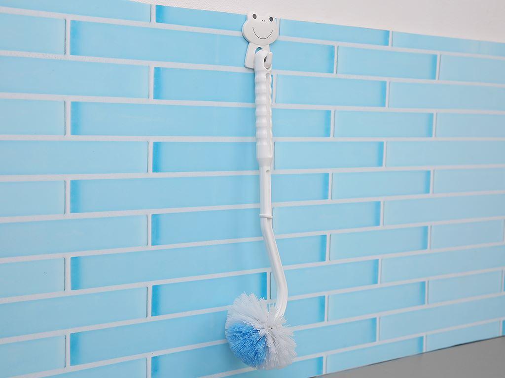 Cọ toilet nhựa có cán Tashuan YJ 799 36.5cm 5