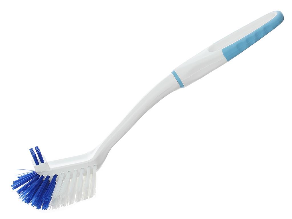 Bàn chải nhựa vệ sinh nhà tắm có râu Tashuan 32cm 1