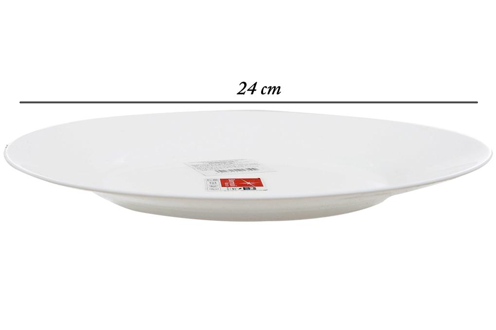 Đĩa thủy tinh 24cm Toledo Bormioli Rocco