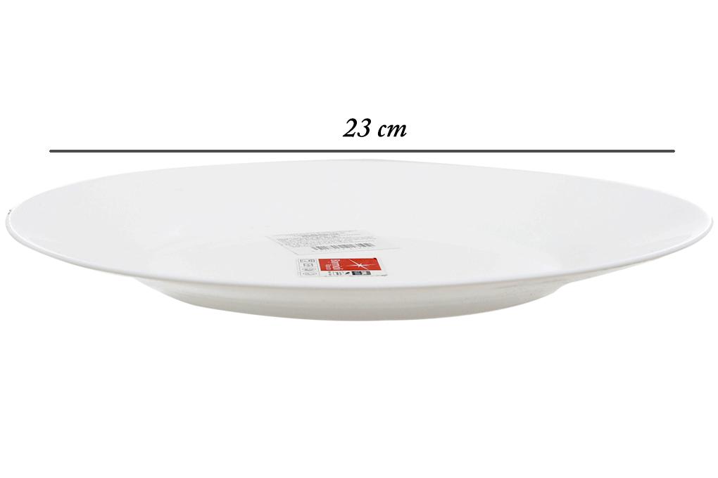 Đĩa soup thủy tinh 23cm Toledo Bormioli Rocco