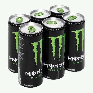 6 lon nước tăng lực Monster Energy 355ml
