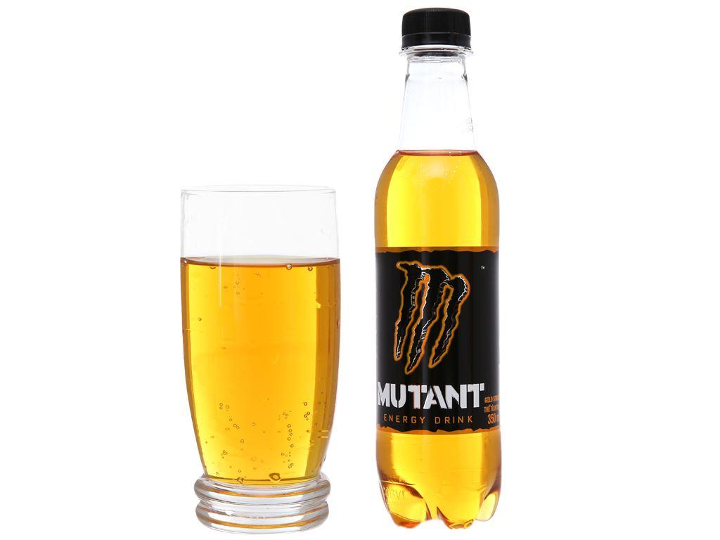 6 chai nước tăng lực Mutant Energy Gold Strike 350ml 3