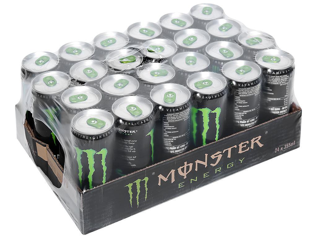 24 lon nước tăng lực Monster Energy 355ml 1