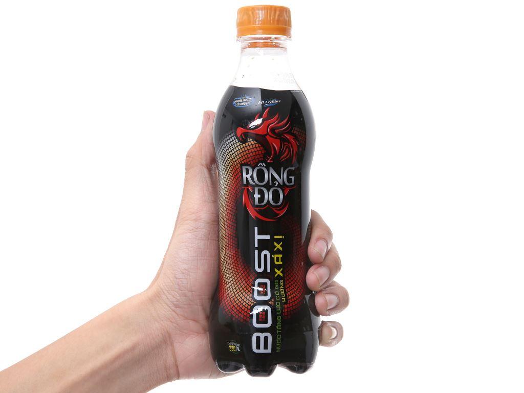 Nước tăng lực Rồng Đỏ hương xá xị 330ml 4