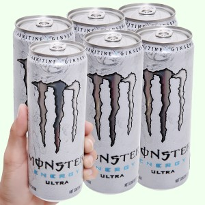6 lon nước tăng lực Monster Energy Ultra 355ml