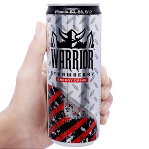 Nước tăng lực Warrior hương dâu 325ml