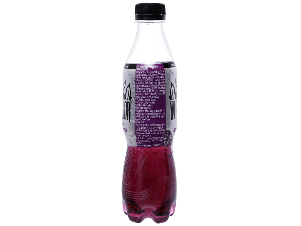 6 chai nước tăng lực Warrior hương nho 330ml 4
