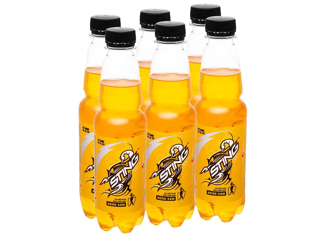 6 chai nước tăng lực Sting Gold 330ml 1