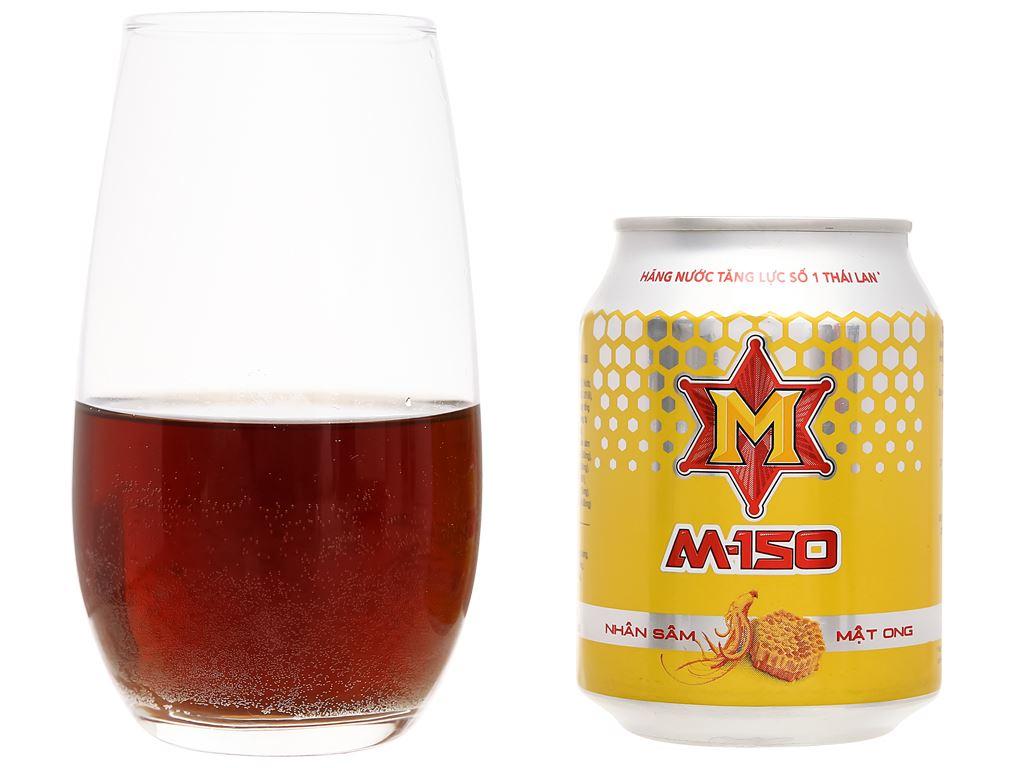Nước tăng lực M-150 vị nhân sâm mật ong 250ml 7