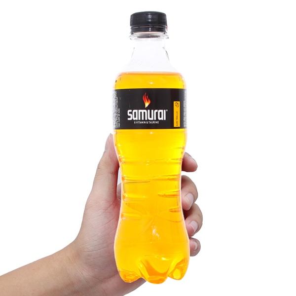 Nước tăng lực Samurai Vàng chai 390ml
