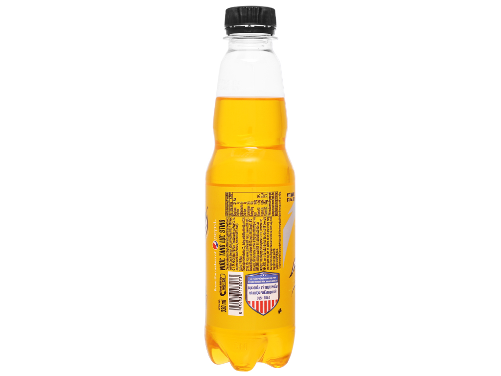 24 chai nước tăng lực Sting Gold 330ml 3